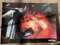 STAR WARS THE LAST JEDI TOYS R US EXCLUSIVE POSTER A WING X WING FIGHTER SCENE