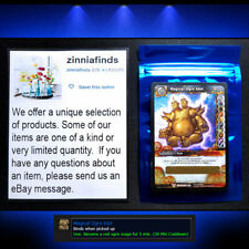 Magical Ogre Idol Loot Card World of Warcraft WoW TCG Toy Box New Unscratched