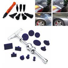 Car Body Paintless Dent Repair Removal Tool Puller T-Bar+12 Tabs +Flattening Pen