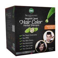 Imc Organic Hair Color Shampoo No Side Effects & No Ammonia - 15ml x4 Sachets