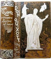 c1880 ADVENTURES OF DON QUIXOTE DE LA MANCHA NEAR FINE ILLUSTRATED GUSTAVE DORE