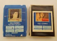 Eric Carmen 8 Track Tapes Set of 2 Self Titled & Boats Against The Current