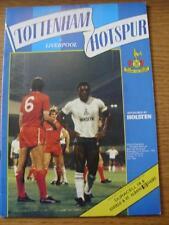 31/10/1984 Tottenham Hotspur v Liverpool [Football League Cup] (No apparent faul