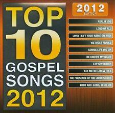 Maranatha! Gospel : Top 10 Gospel Songs 2012 Edition CD