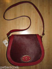 NEW Fossil VRI TZ Crossbody Handbag Bag $218 Leather Red Like Syle