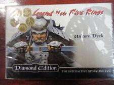 Legend of the Five Rings,Diamon Edition,Unicorn Deck,2004 (INGLES)
