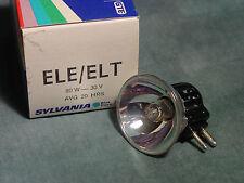 Sylvania ELE / ELT 80 watt 30 volt avg 20 hour Projection Lamp Bulb New
