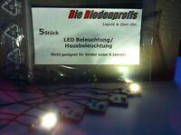 15x  LED Hausbeleuchtung anschlussfertig ( 5X gelb/ 5X neon/ 5x warm weiss)