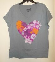 Women's Size S, M, OR XL Hanes Brand V-Neck Short Sleeve T-Shirt NWT