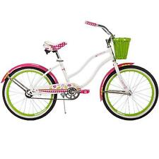 "Girls Cruiser Bike 20"" Beach City Bicycle Basket"