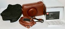 Leica Brown Leather Case For D-Lux 4 and D-Lux 5 New Old Stock Cat 18689