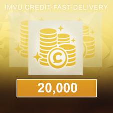 20,000 IMVU Credits