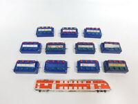 CH51-1# 11x Märklin H0 etc Stellpult/Schaltpult: 7072 + 7210 + 7211, gebraucht