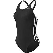 Adidas Badeanzug 128 schwarz Z29299 Aktion Schwimmer Chlorresistent UVP*34,95€