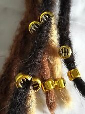 6 Hair Beads Braiding Comb Pin Dreads Claw Cornrow plait Scrunchies Clamp clips