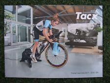 NUOVO 2018 Tacx Triathlon TT Road Bike TURBO SMART Cycle Trainer 18 pagine catalogo