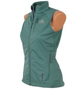 Adidas XP Climaheat Athletic Weste Vest Damen Trainingsweste DSV Jacke warm grün