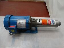Goulds Pump Goulds Pump 7gbs0514j4 Sz7gpm Withfranklin Electric Motor 12hp 60hz