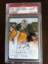 2003-04 PSA 10 Marc-Andre Fleury SP Authentic Future Watch Auto /900