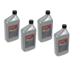 Genuine Honda Dual Pump Fluid II Differential Oil x4 Quarts With Free Washer!