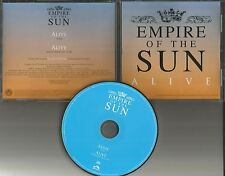 Sleepy Jackson EMPIRE OF THE SUN Alive w/ RARE INSTRUMENTAL PROMO DJ CD single