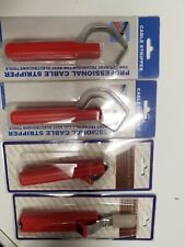 Set Of 4 Electricians Cable Knife Wire Stripper Dismantling Tools