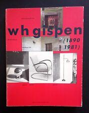 RARE MONOGRAPHIE W.H. Gispen design industriel néerlandaises Meubles De Stijl moderniste