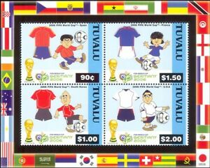 Tuvalu 2006 2006 Football World Cup Championships/WC/Soccer/Sports 4v m/s n16806