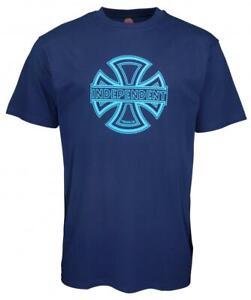 INDEPENDENT TRUCK CO' Skateboard Tee - Convex - Medium T- Shirt - Navy