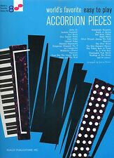 WORLD'S FAVORITE EASY TO PLAY ACCORDION PIECES SERIES NUMBER 8 PAPERBACK