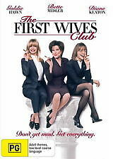 THE FIRST WIVES CLUB - BRAND NEW & SEALED R4 DVD (GOLDIE HAWN, BETTE MIDLER)