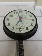 Vintage Disney Scrooge McDuck Tee-Time Antique Wall Clock