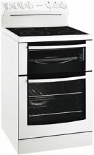 Westinghouse WLE645WA White 60cm freestanding cooker with fan forced oven