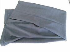 Vintage Vtg 1990s 90s M & S Marks Spencer Trousers Indigo Mix 60% Wool 10 - 12