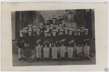 1910 St. Lawrence College Band Mt. Calvary Wi Rppc