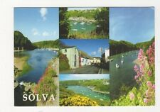 Solva Pembrokeshire Postcard 558a