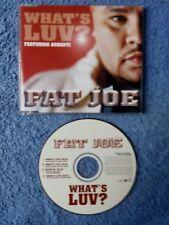 CD: FAT JOE  What's luv  CD Maxi mit 4 Tracks (Neu) 😀