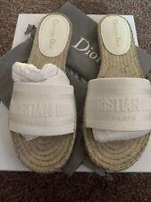 New Christian Dior Granville Slides Size 41