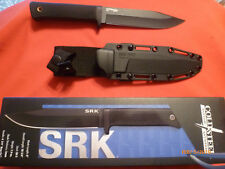 Cold Steel SRK (CS49LCK) Carbon Steel Hunting Knife with Sheath - New
