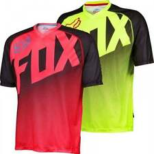 Fox Short Sleeve Loose Fit Cycling Jerseys