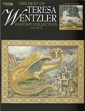 Best of Teresa Wentzler Fantasy Collection Vol 2 Counted Cross Stitch Dragon NEW