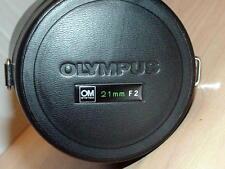 OLYMPUS OM ZUIKO 21mm F2 LENS CASE