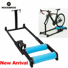 ROCKBROS Roller Trainer Indoor Cycling MTB Road Bike Rollers Trainer Black Blue