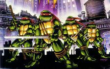 """Teenage mutant ninja turtles 2014 Movie Fabric poster 21""""x13"""" Decor 25"""