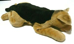 "Rare Vintage 2000 Toys R Us Plush Dog German Shepherd 30"" Huge Puppy Toy"