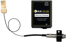 K&K Sound Definity System Pickup w/Preamp for Maccaferri/Floating Bridge Guitars