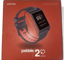 Pebble 2 + Heart Rate Red Polycarbonate Case Classic Buckle