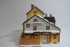 LEMAX Dickensvale Lighted HARDWARE STORE 1993, Excellent Condition