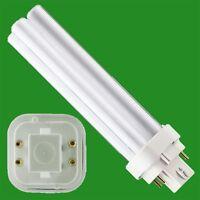 4 X 18 W G24d-2 Basse Consommation CFL BLD Doubles Tourner Ampoule 2 Broche