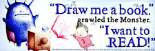 Jeremy Draws a Monster Bookmark Peter McCarty *BRAND NEW/MINT CONDITION*